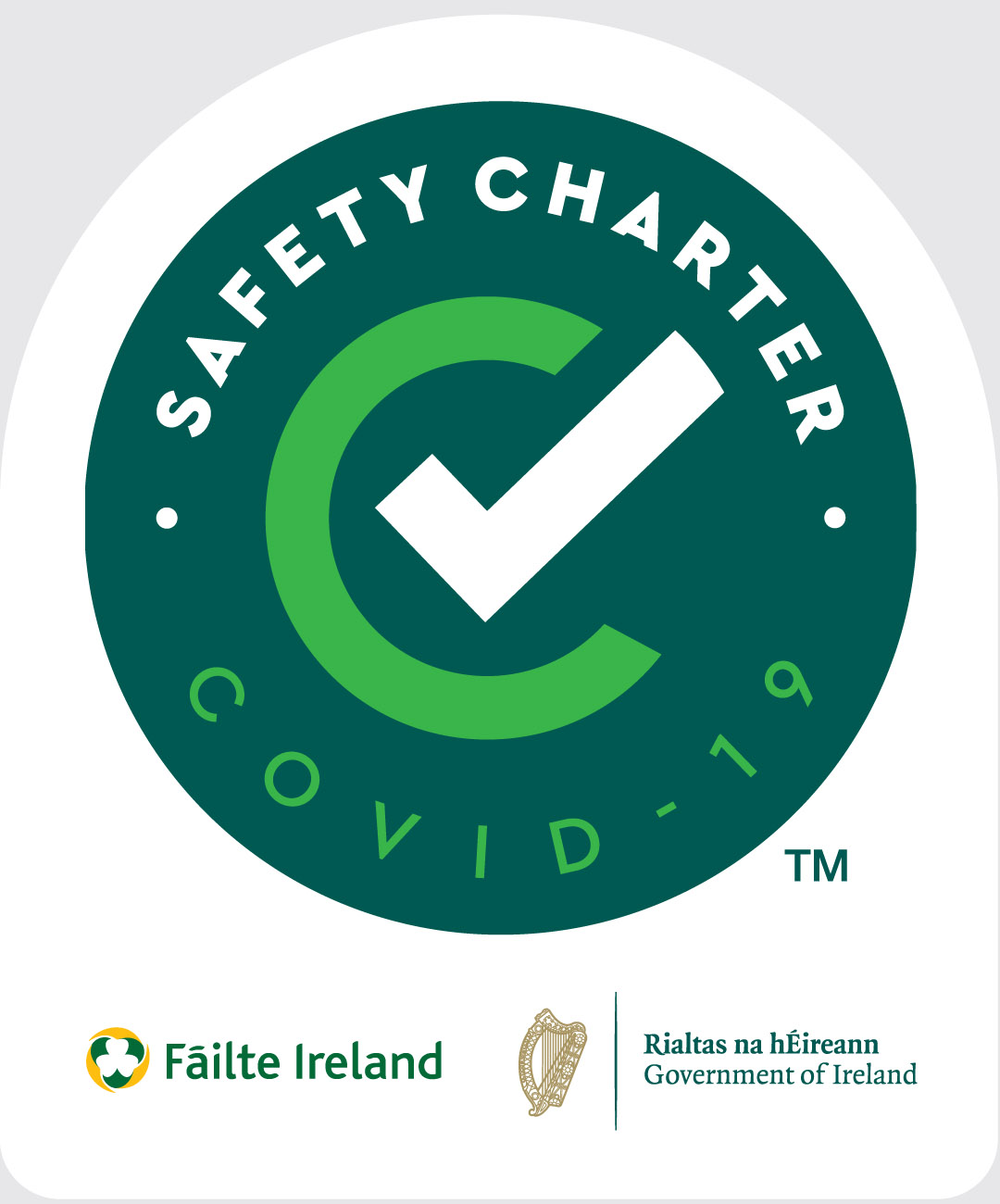 Covid -19 Safety Charter Logo